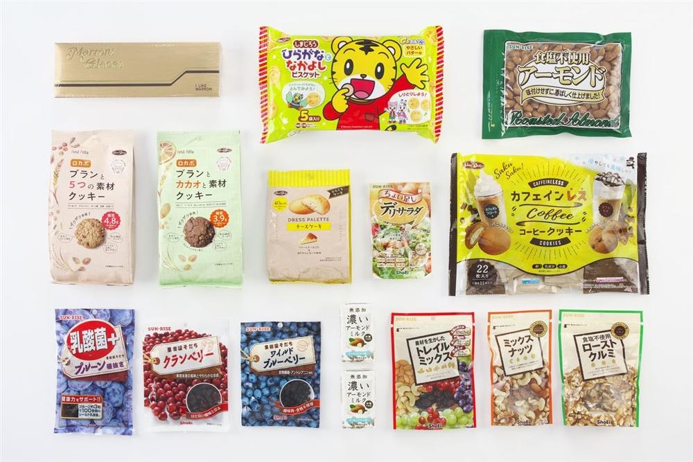 正栄食品工業自社製品優待内容の画像