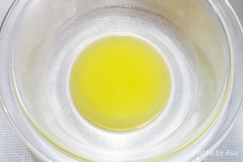 栄養満点バナナマフィン バターの写真