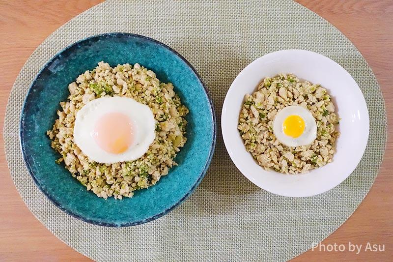 タイ料理ガパオライス 親子で一緒に食べられる幼児食レシピ